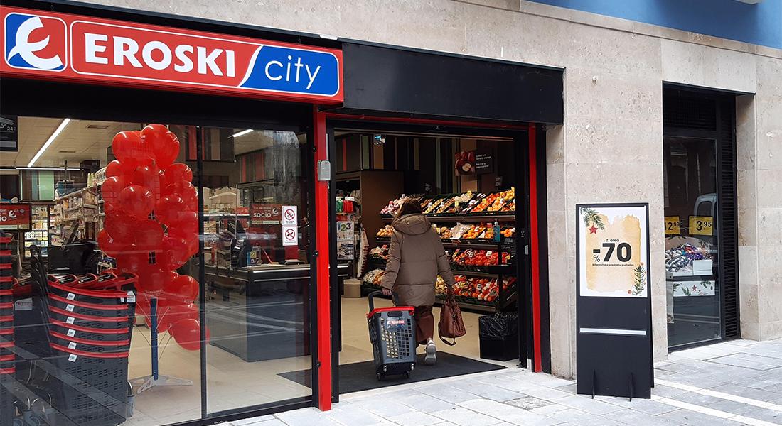 Eroski inauguró 52 establecimientos franquiciados en 2020