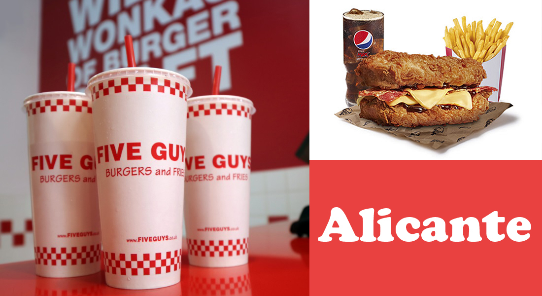 La cadena Five Guys llega a Alicante