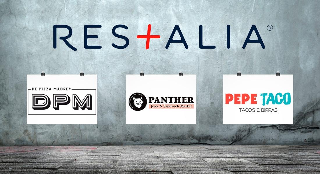 Grupo Restalia presenta tres nuevas marcas de restauración